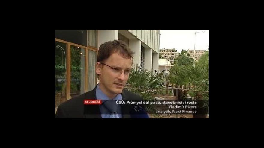 Video Reakce analytika Vladimíra Pikory