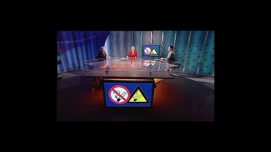 Video Boris Šťastný a Václav Snopek v Událostech, komentářích