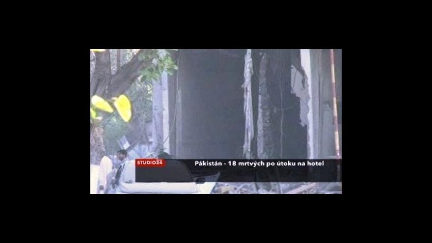 Video Jan Petránek k situaci v Pákistánu