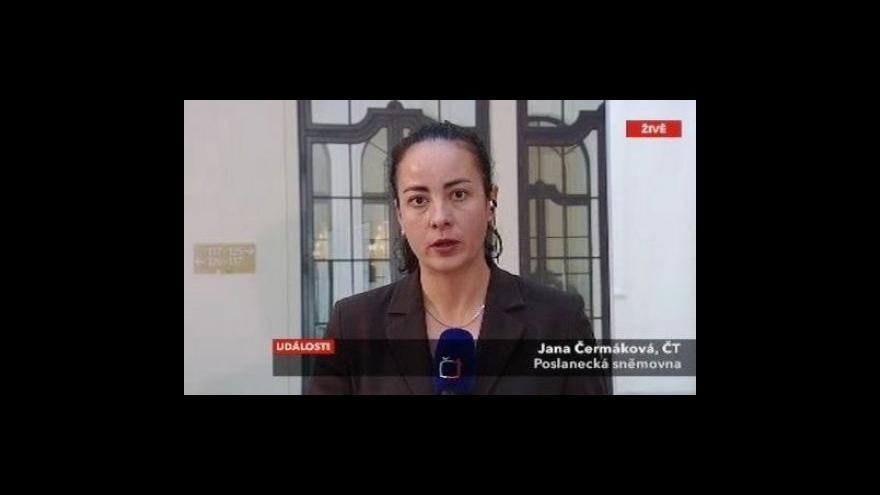 Video Živý vstup Jany Čermákové