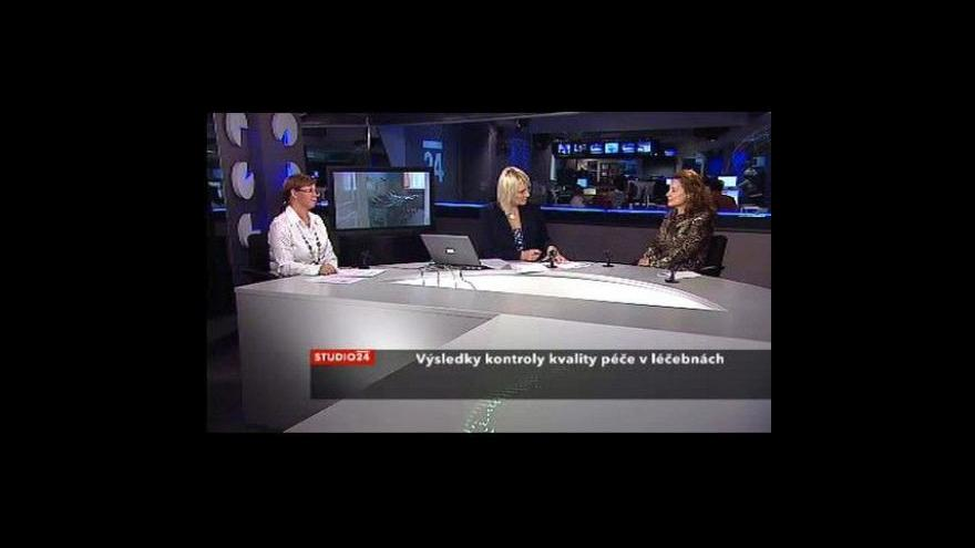 Video Zdeňka Kučerová a Eva Topinková ve Studiu ČT24