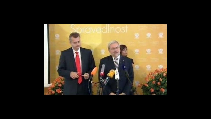 Video Brífink ČSSD