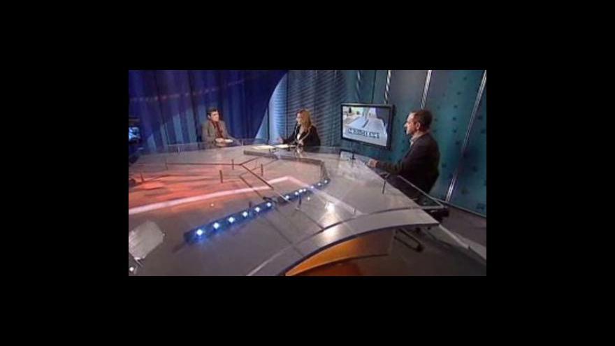 Video Alexandr Mitrofanov a Bohumil Pečinka hosty Událostí, komentářů