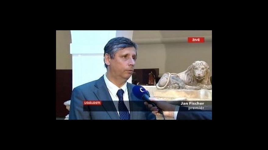 Video Vláda Jana Fischera získala důvěru