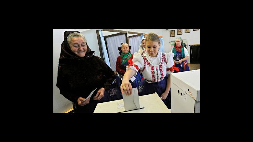 Video Evropské volby se blíží ke konci