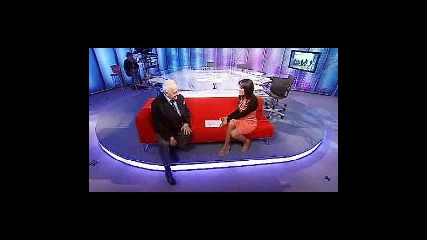 Video Profil ČT24 s Ivanem Schwarzem