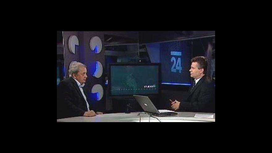 Video Rozhovor s Lubošem Petruželkou ve Studiu ČT24