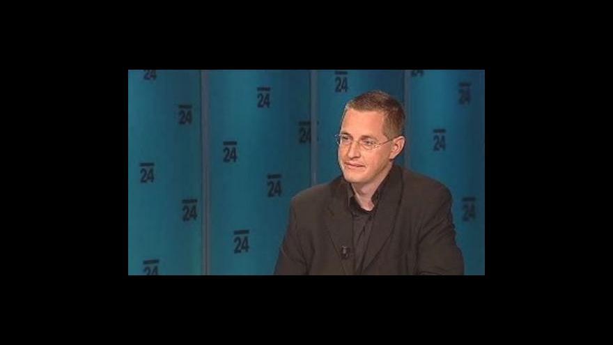 Video Martin Rozumek v pořadu Události, komentáře