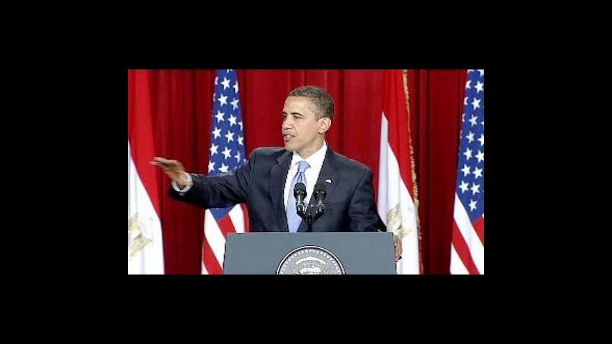 Video Projev Baracka Obamy na Káhirské univerzitě