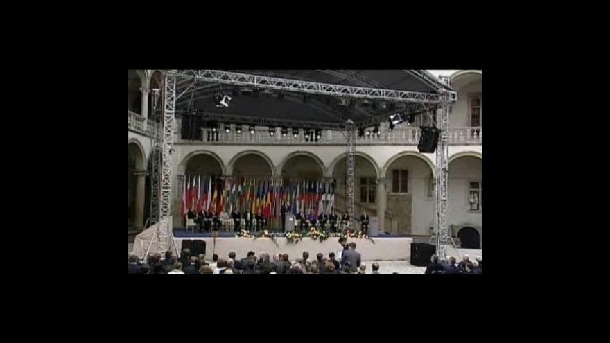 Video Projevy k 20. výročí pádu komunismu v Polsku