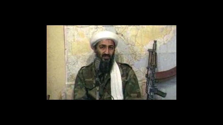 Video Usáma bin Ládin se pustil do Obamy