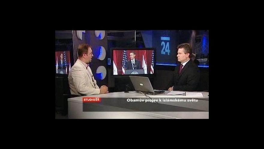 Video Roman Joch k Obamově projevu