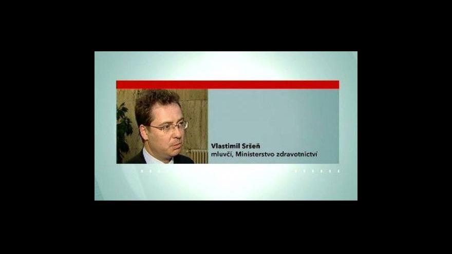 Video Telefonát mluvčího ministerstva zdravotnictví