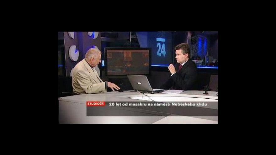 Video Jan Petránek k Tchien-an-men