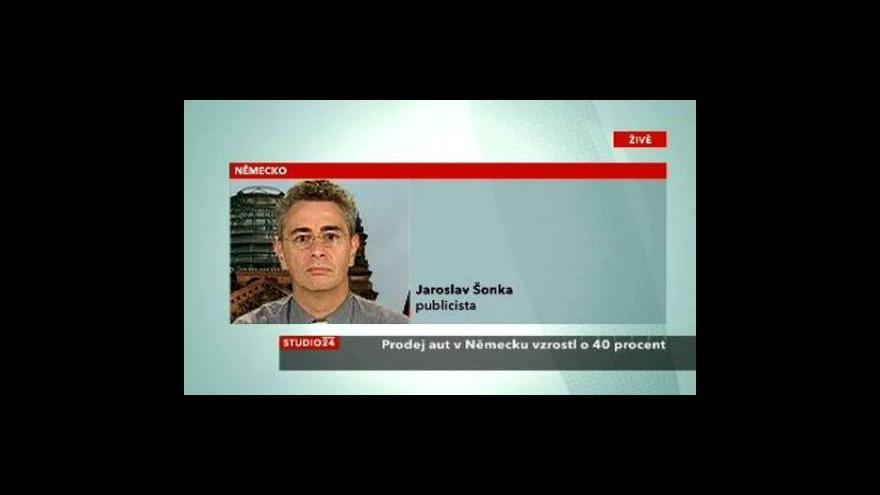 Video Komentář Jaroslava Šonky