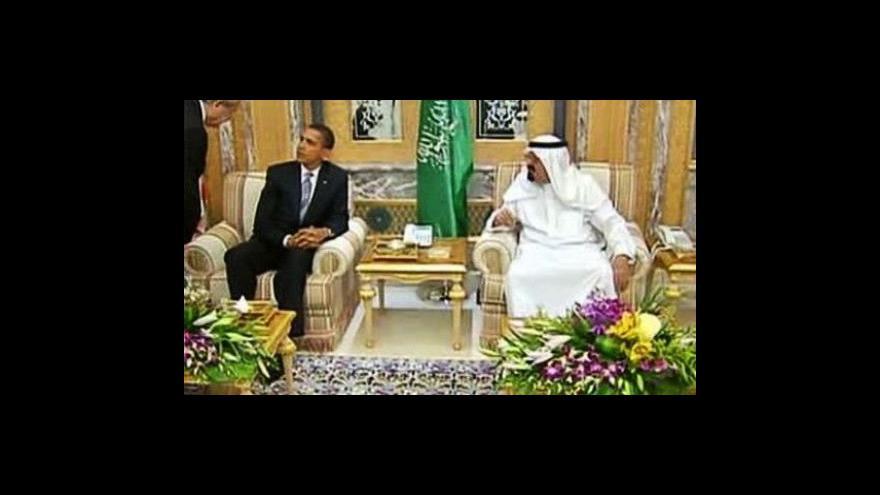 Video První Obamova cesta po arabském světě