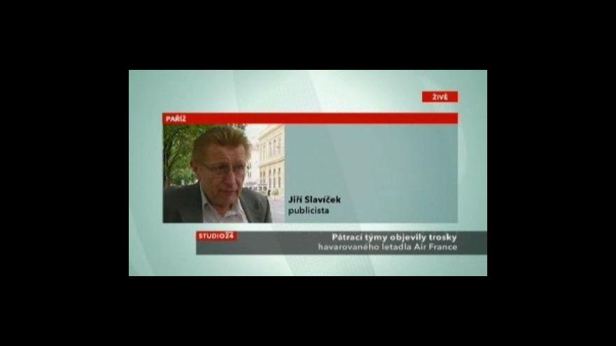 Video Rozhovor s publicistou Jiřím Slavíčkem