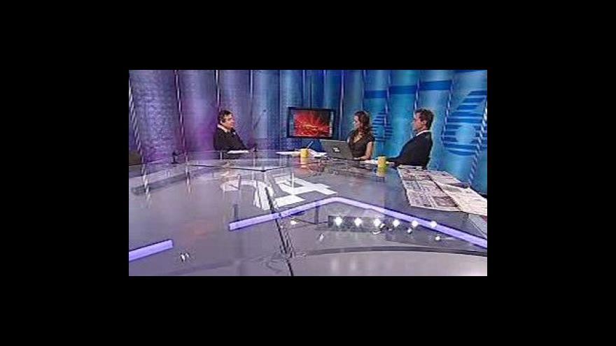 Video Rozhovor s Michalem Sobotkou ve Studiu 6
