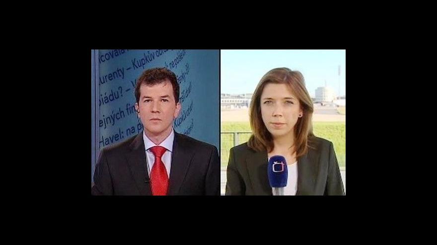 Video Události, komentáře o ztraceném francouzském letadle