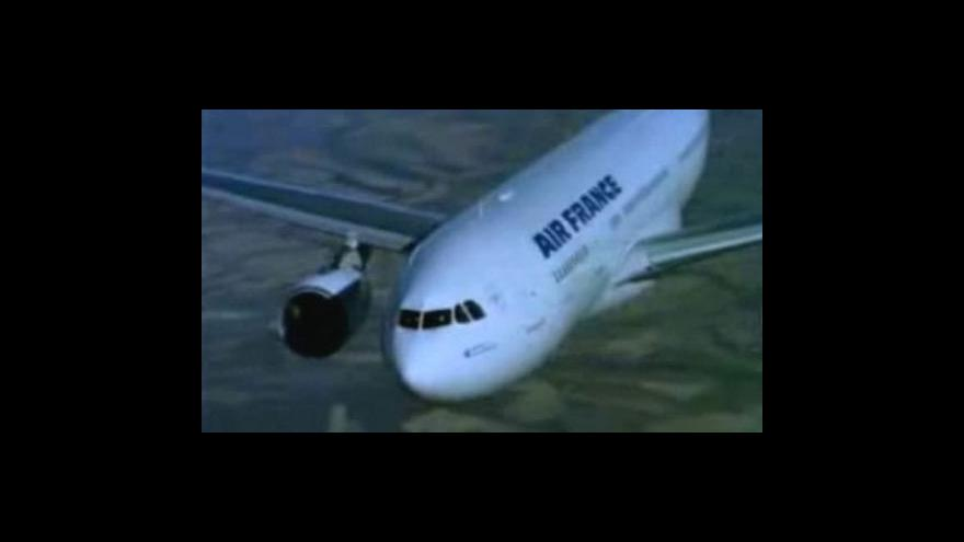 Video Pátrání po letadlu je stále bezvýsledné
