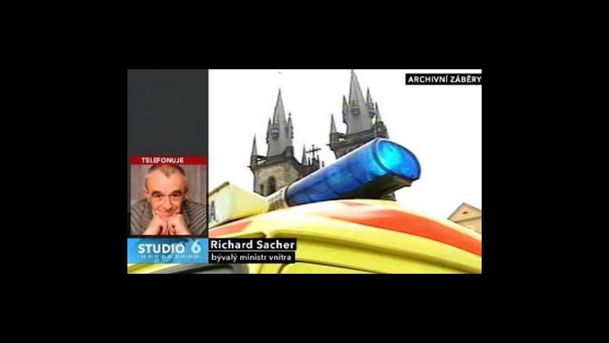 Video Rozhovor s bývalým ministrem vnitra Richardem Sacherem