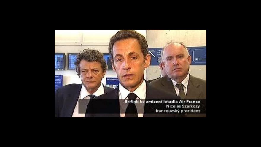 Video Brífink Nicolase Sarkozyho