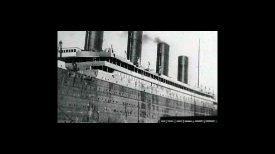 Video V 97 letech zemřela poslední cestující z Titaniku
