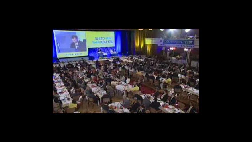 Video Zpráva předsedy Jiřího Čunka