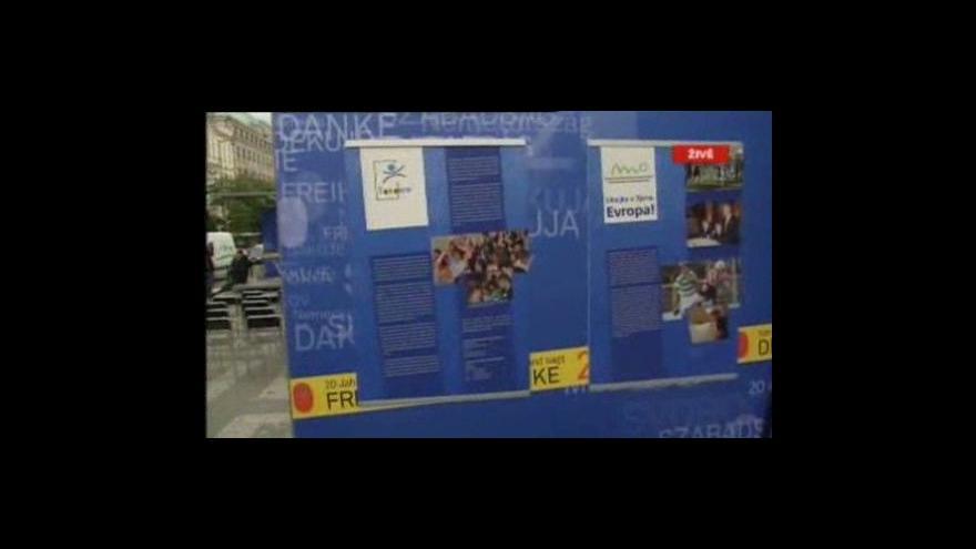Video Vstup Lenky Drmotové z Václavského náměstí