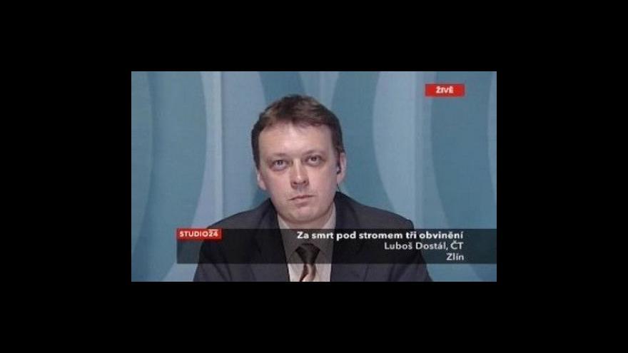 Video Rozhovor s redaktorem ČT Lubošem Dostálem