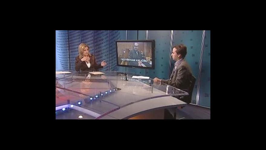 Video Vladimír Vaněk a Ondřej Kundra v Událostech, komentářích