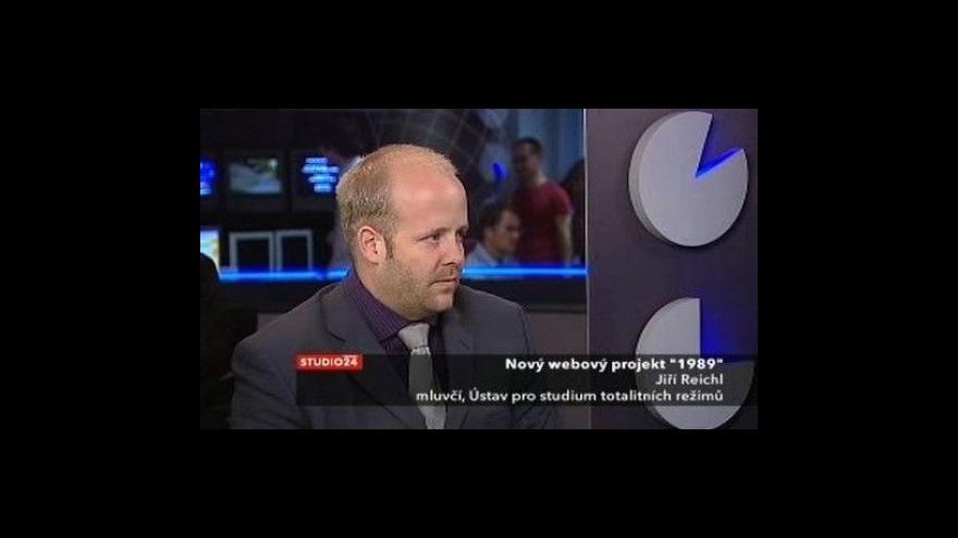 Video Rozhovor s Jiřím Reichlem