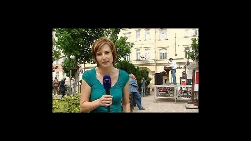 Video Reportáž Olgy Bakové