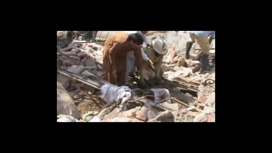 Video Výbuch v Láhauru zabil 24 lidí