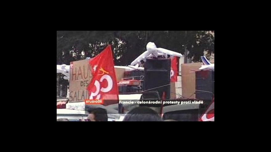 Video Zdeněk Velišek k protestům ve Francii