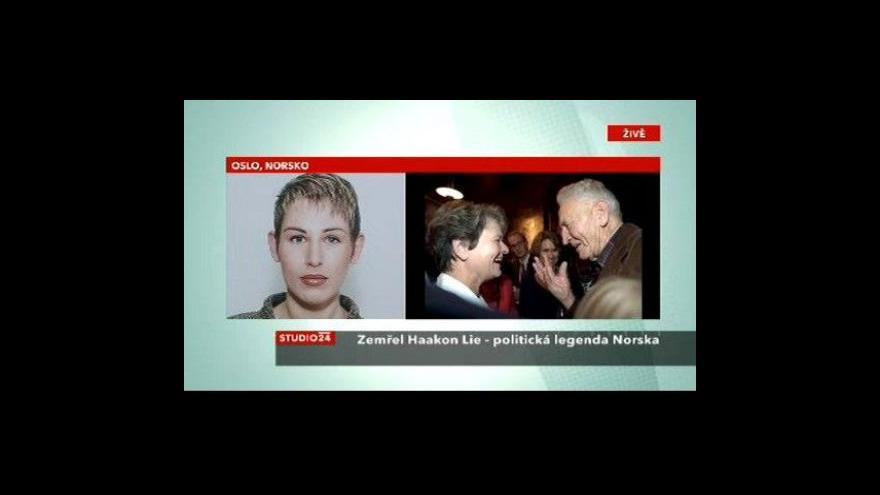 Video Zemřel Haakon Lie