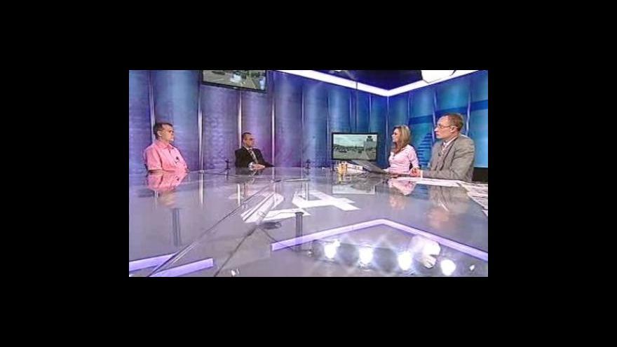 Video Miroslav Korecký a Tomáš Skřivánek ve Studiu 6