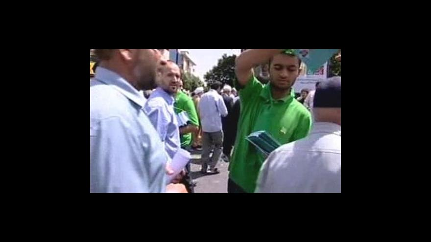 Video Prezidentská kampaň v Íránu