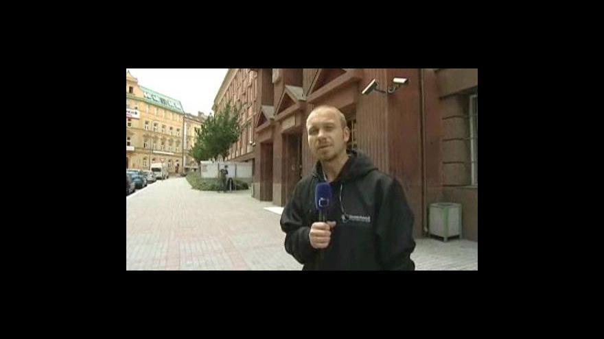 Video Reportáž a vstup Karla Vovesného