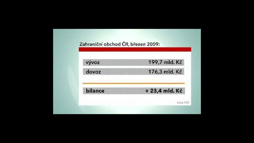 Video Rekordní výsledky zahraničního obchodu