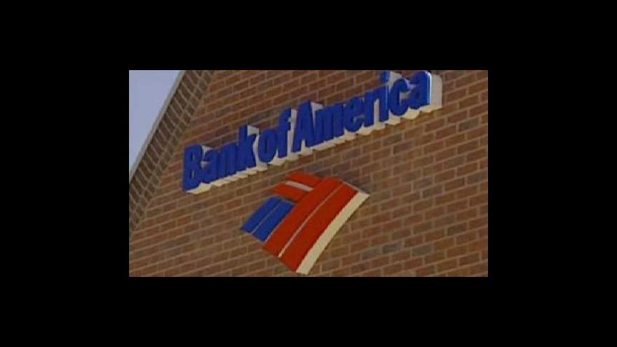 Video Bank of America potřebuje další peníze