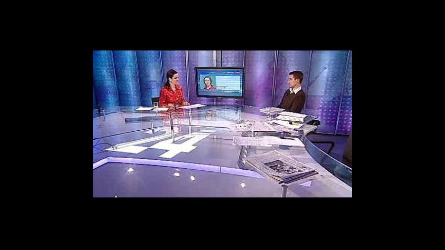 Video Rozhovor s Hanou Scharffovou a Petrem Dvořákem