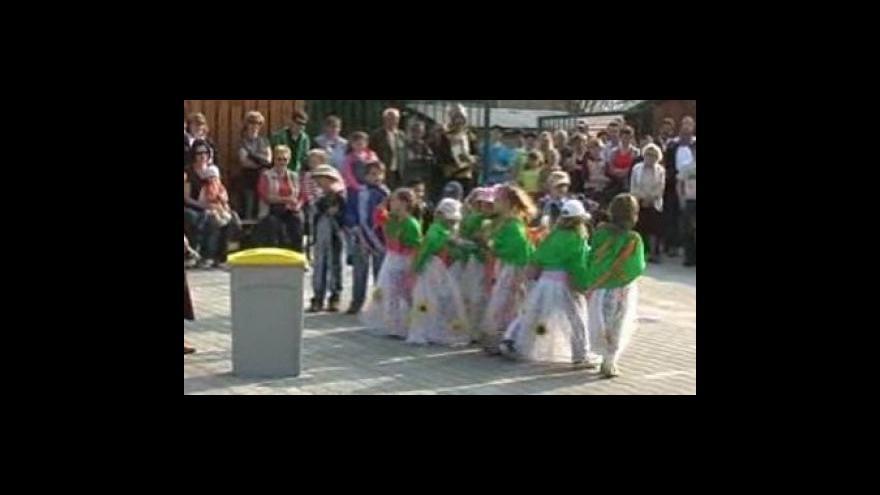 Video Otevření sběrného dvora  v Javorníku