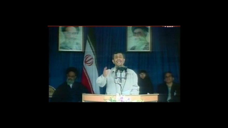Video Velmoci chtějí jednat s Iránem o jaderném zbrojení