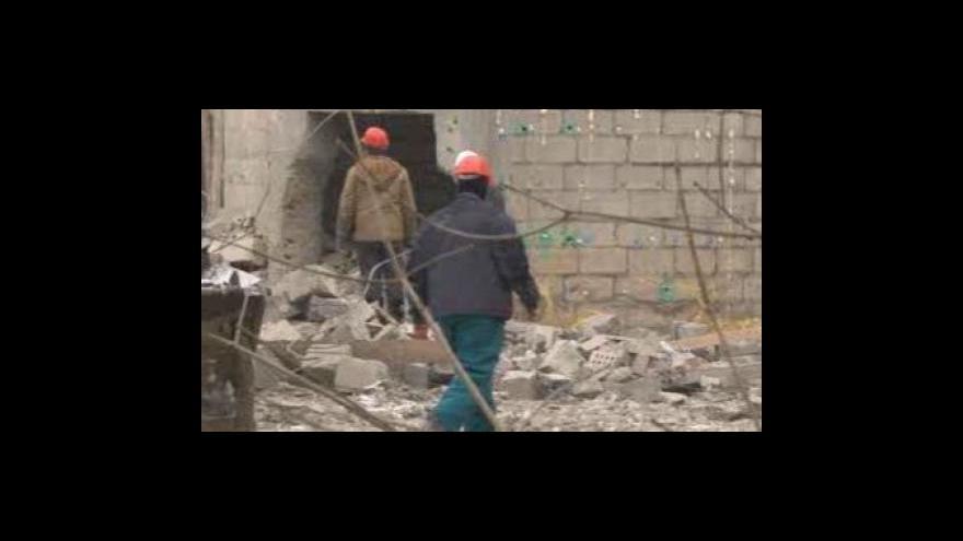 Video Bourání komína v Kutné Hoře