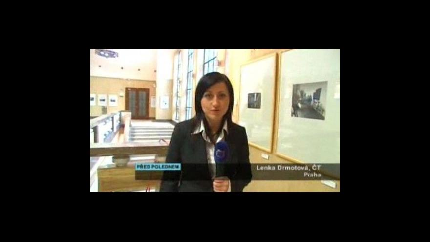Video Lenka Drmotová informuje o výstavě v ČNB
