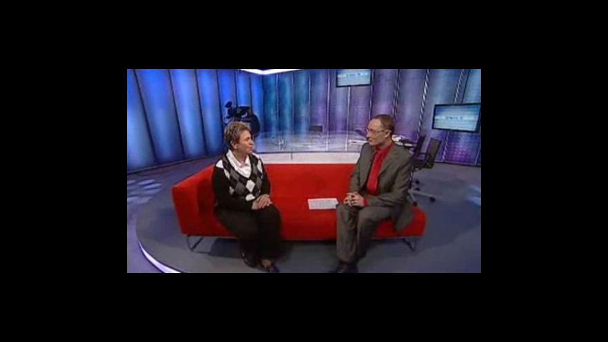 Video MUDr. Martina Pelichovská ve studiu ČT24