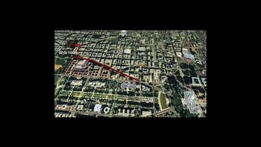 Video Trasa slavnostní inaugurační přehlídky