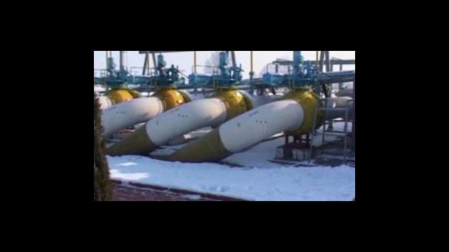 Video Plyn znovu teče do západní Evropy