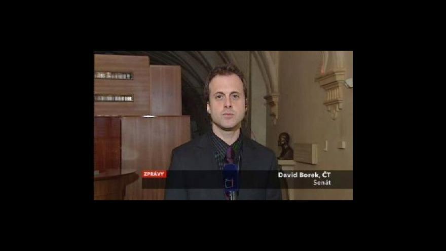Video Vstup Davida Borka ze Senátu